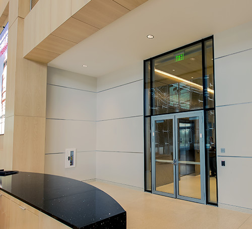 Fire-Rated Steel Curtain Wall For 60, 90 Min